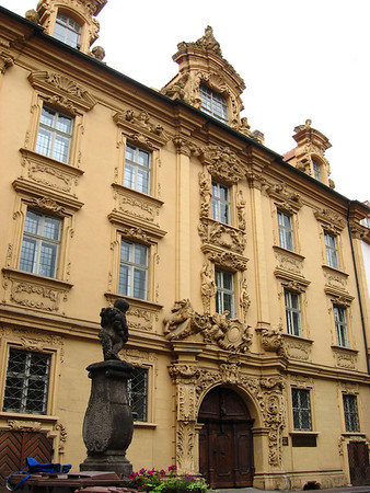Böttingerhaus - a Baroque mansion, constructed from 1707-1713 - Bamberg