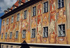 Allegorical fresco mural paintings (baroque style, started around 1600 in Rome) - upon the walls of the Altes Rathaus (Old Town Hall) - Bamberg