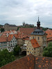 Across the Regnitz River and the Old Town Hall - to the New Residence - and St. Michaels on the hill.