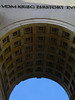 Sigestor ( Victory Gate) - erected in 1852 - the sculptured coffers of the central arch - Munich