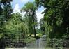 Bridge railing over the Isar River - in the Englischer Garten (English Garden) - Munich