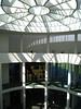 Modern Art Museum - inaugurated in 2002 - the central rotunda - Munich