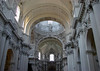 The end of the nave's colonnade - to the dome, at the crossing - to the apse - Theatinerkirche (St. Cajetan's Church) - Munich