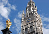 Mariensäule (St. Mary's Column) - up to the Neues Rathaus Turm (New Town Hall Tower) - Munich