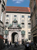Münchner Residenz (Munich Residence) - which was the former Royal Palace of the Bavarian monarchs - view from Viscardigasse (street) - Munich