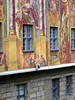 Allegoric mural and 3-D appendage - on the Altes Rathaus (Old Town Hall) - Bamberg