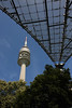 Olympiaturm (Olympic Tower), rising to 950 ft. (290 m) - at Olympic Park - Munich