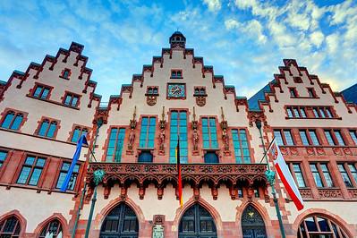 Frankfurt - Altstadt (Old Town) at Römerberg (1)