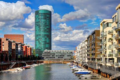 Frankfurt Westhafen & Westhafen Tower (1)