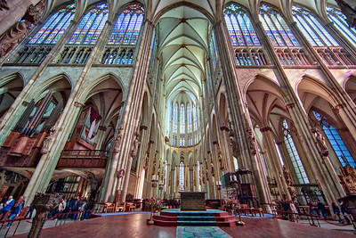 Cologne Cathedral, in Cologne, Germany-52