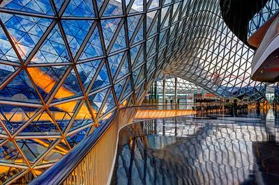 Interior MyZeil Frankfurt