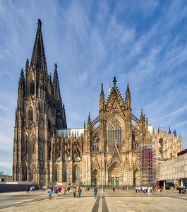 Cologne Cathedral, in Cologne, Germany-76