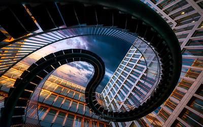 Munich Black Stair