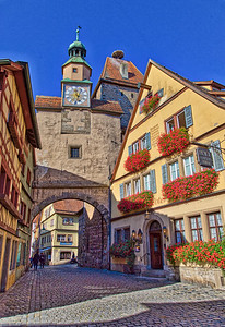 Rothenburg ob der Tauber,  Germany-70