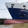 Bernhard Schepers container ship in Hamburg