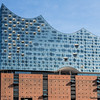 The super modern Elbphilharmonie in Hamburg