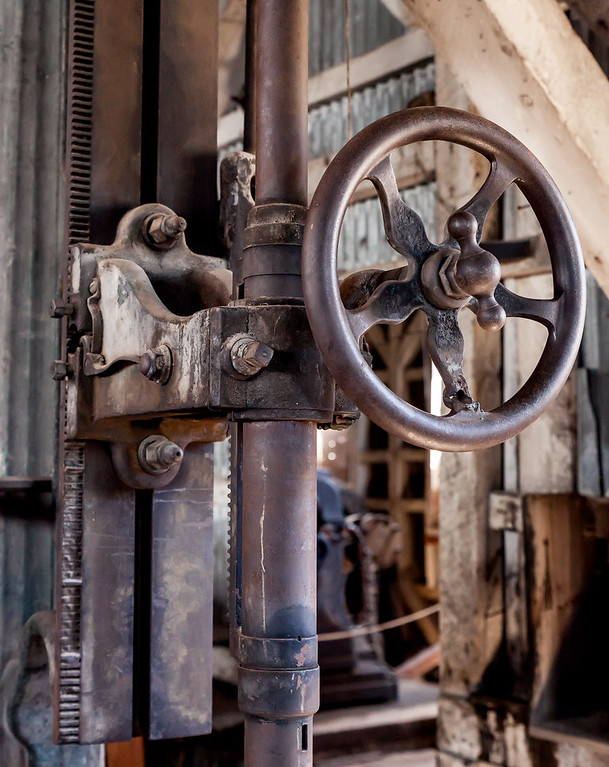 Machine shop, Standard Stamping Mill, Bodie, California USA