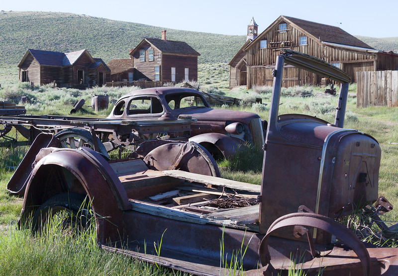 Abandoned cars, Bodie, California USA