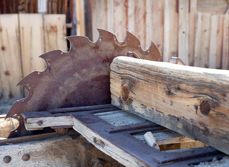Table saw, Bodie, California USA.