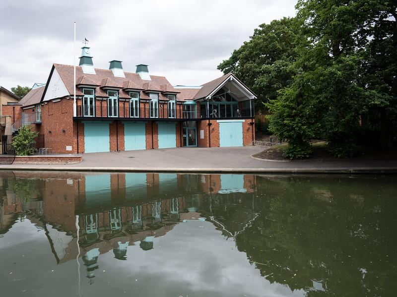 Boat House in Cambridge (Aug 2021)