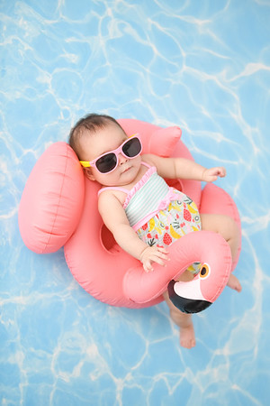 Baby on Floatie