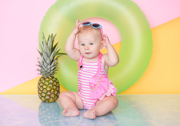 Pineapple Themed Baby