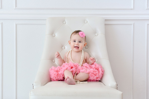 6 month Baby Girl Photo