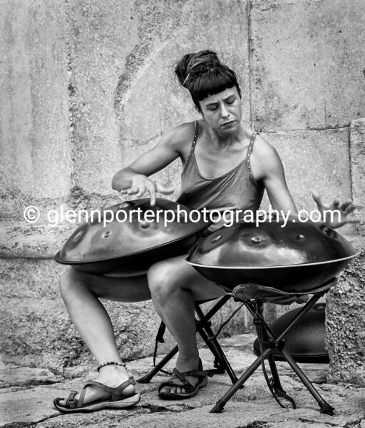 Street entertainer.