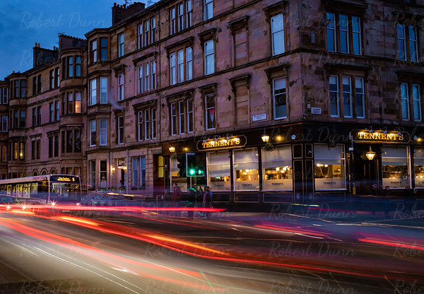 Byres Road early evening