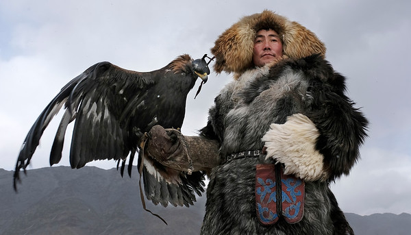 Golden Eagle Festival, Mongolia 2017