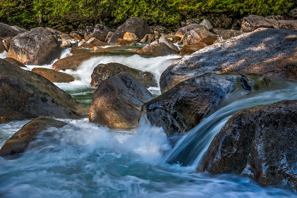 Gold Creek rapids in Golden Ears Park, BC.