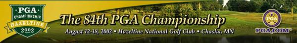 PGA Championship 2002 Banner (Copyright PGA of America)