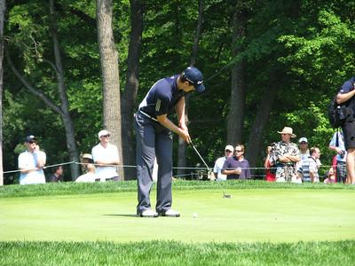 PGA Champtionship Practice Round Tue Aug 11 2009