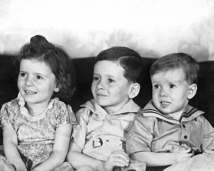 """Ellen, John, and Andrew Photo restored by Colleen M. Griffith www.colleenmgriffith.com <a href=""""http://www.facebook.com/colleen.griffith"""">Friend Colleen on Facebook"""
