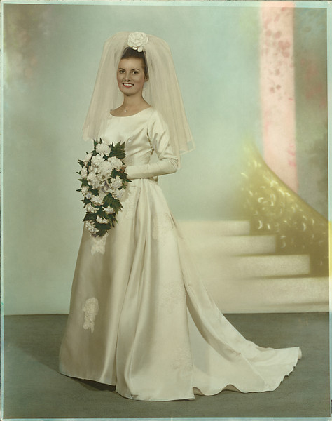 """Ellen  This is an original photo, in need of restoration.  It is roughly 40 years old and as you can see, it has yellowed considerably over that time.  It also has dark and dirt spots all over.   <a href=""""http://www.colleenmgriffith.com/Galleries/Service-Offering/Photo-Restoration/15146443_3B6a7#1158870187_99v5v"""">Click here to see the photo I completely restored.</a>"""