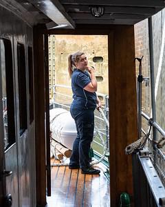 Inside a lock, Gota Canal, Sweden