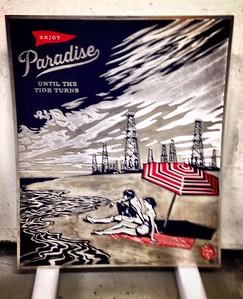 Gowanus Art Project - Shepherd Fairey original metal plates