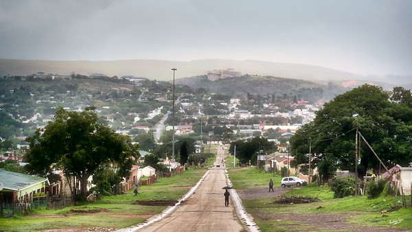 The View from Fingo Village, Grahamstown Makhanda