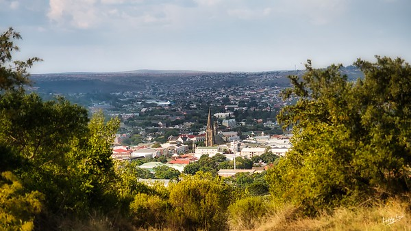 The View from Bots, Grahamstown Makhanda