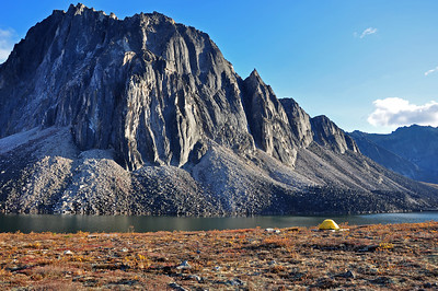Camp at Talus Lake, Tombstone Territorial Park