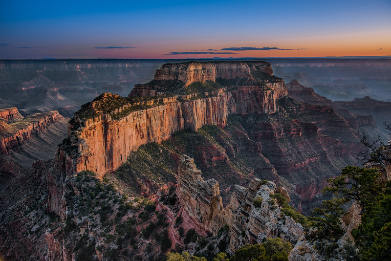 Cape Royal, North Rim, Grand Canyon,AZ