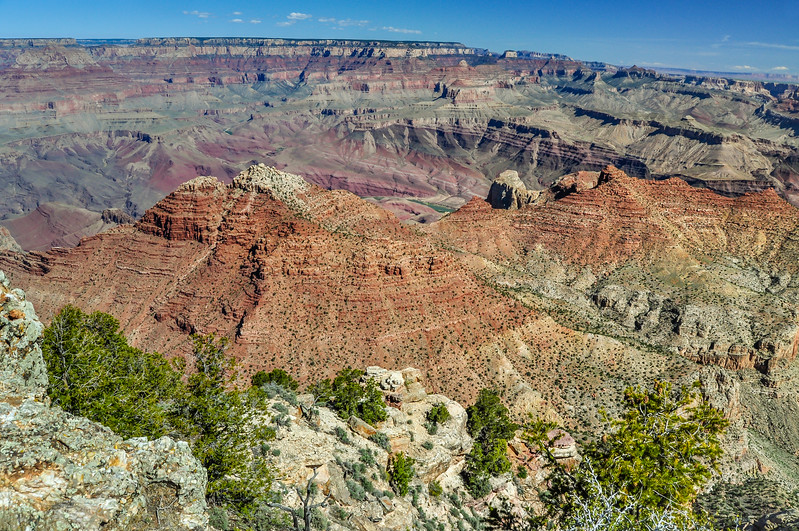 Colorful Rocks of the Grand Canyon