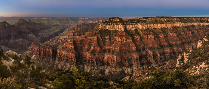 Bright Angel point, Grand Canyon, North Rim; Arizona