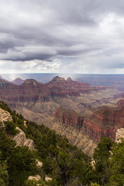 View from the North Rim Lodge, grand Canyon, AZ