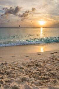 Beautiful Grand Cayman Sunset 1