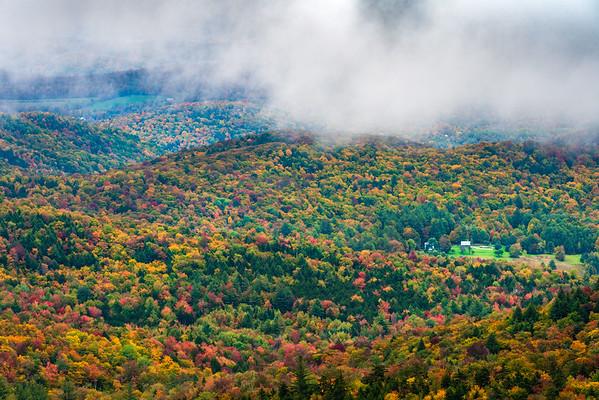 Foggy Morning on the Ridge