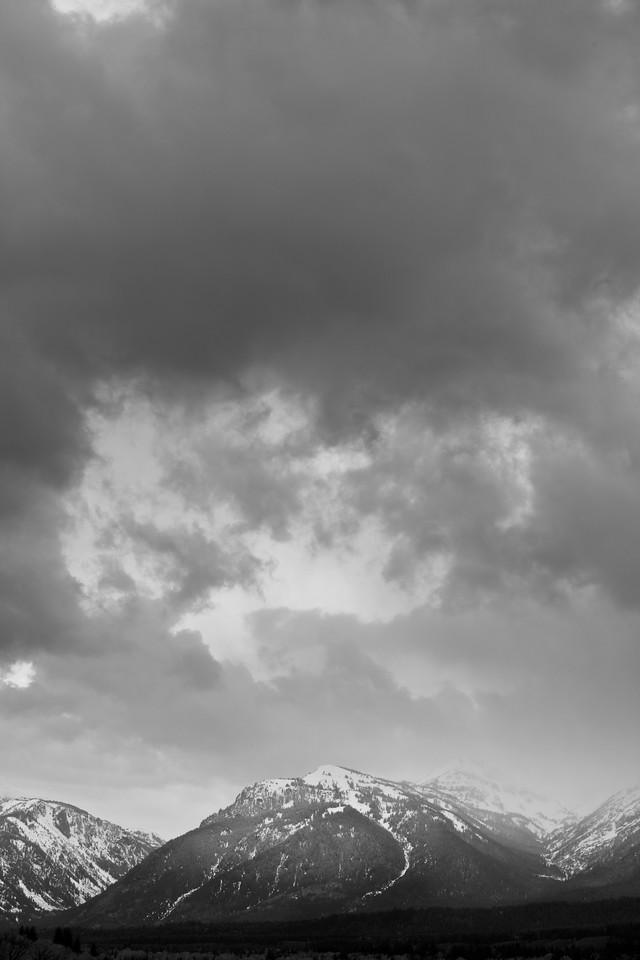 Tetons Cloudscape