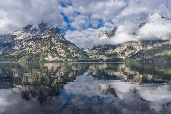 Jenny Lake, Morning