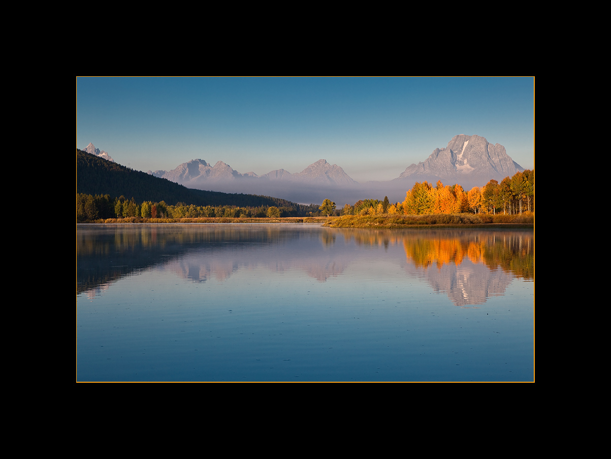 The Oxbow Bend of the Snake River, Grand Teton National Park