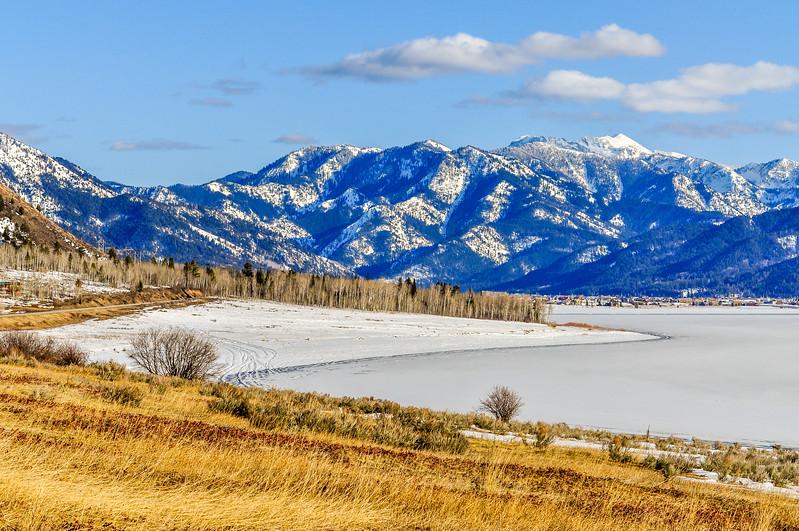 Grand Teton Mountains & Jenny Lake